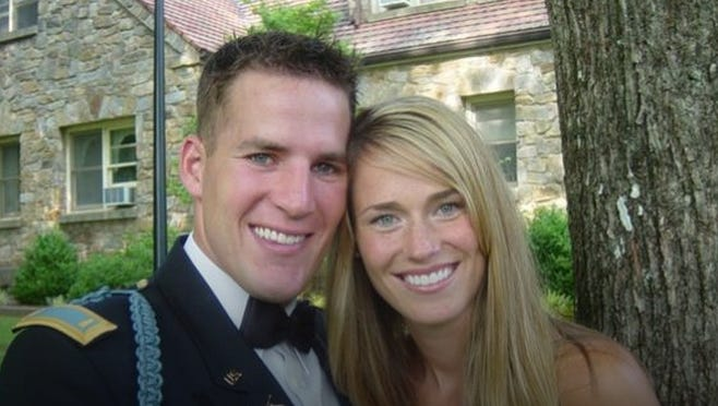 Scotty & Tiffany Smiley before his deployment to Iraq in 2005.
