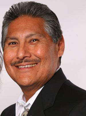 Former three-time Mescalero president  Mark Chino throws his hat in the race for the top job again.