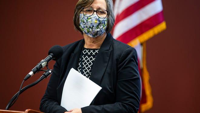 Sangamon County Department of Public Health director Gail O'Neill