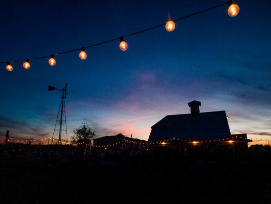The sun sets on the 7th annual Food Invasion benefit