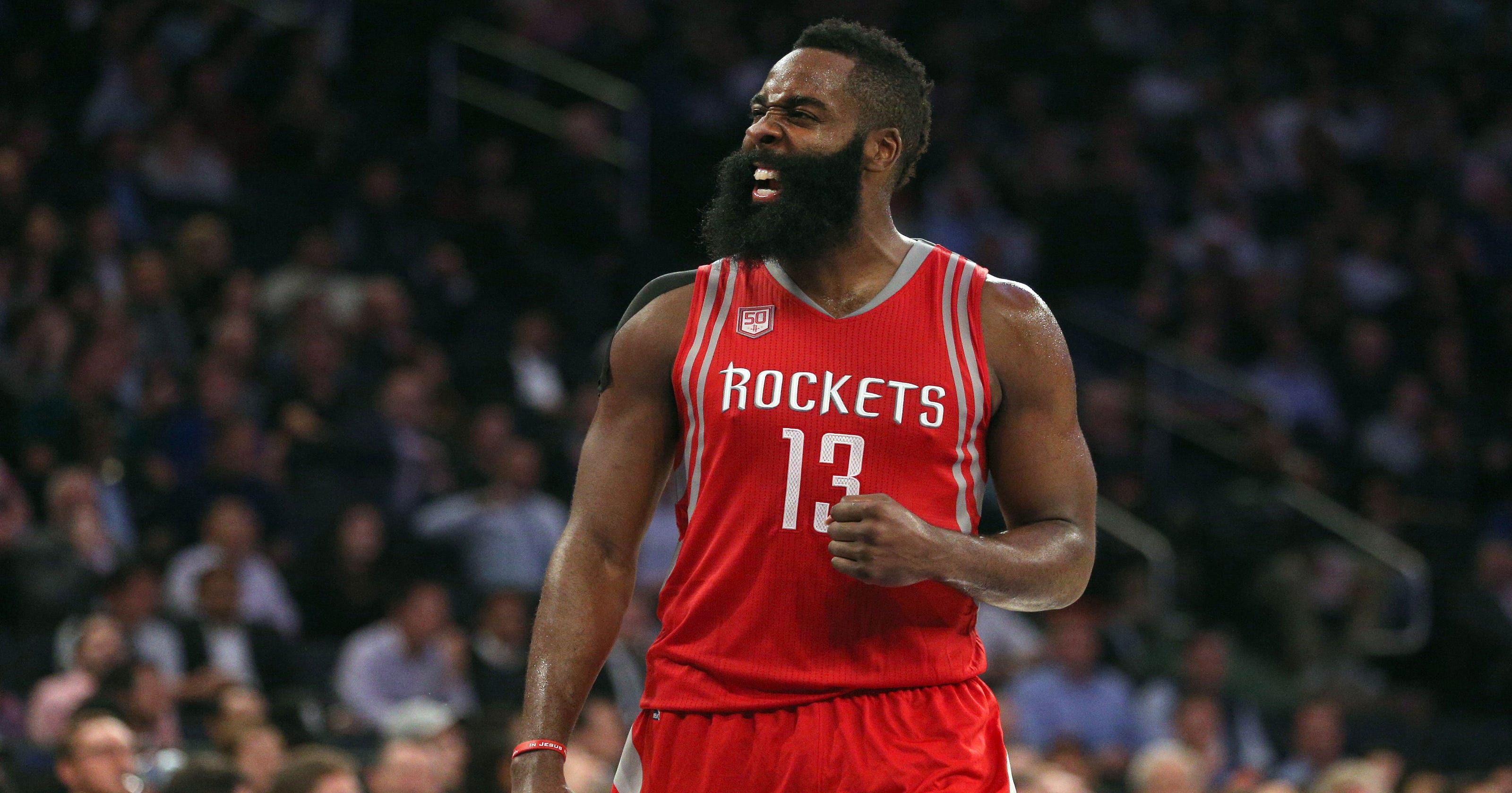 d650bb7aa35 Houston Rockets  James Harden  I  promise I won t  ever leave team
