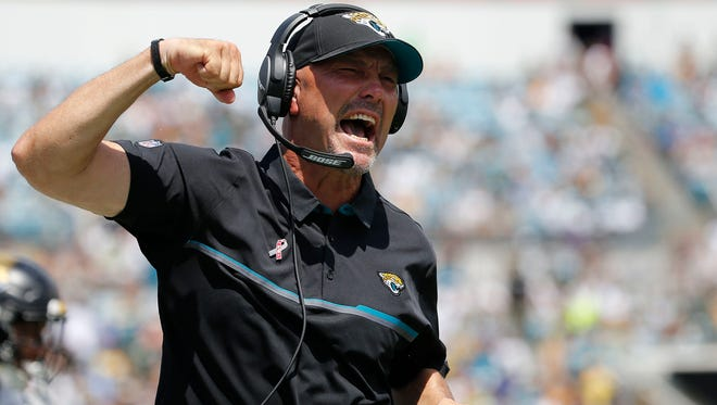 Jaguars coach Gus Bradley has never won more than five games in a season.