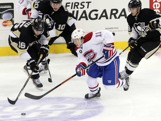 USP NHL: MONTREAL CANADIENS AT PITTSBURGH PENGUINS S HKN USA PA