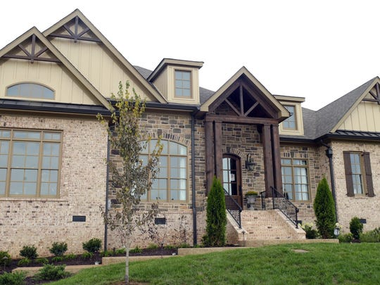 A Wiesner Homes model at The Hideaway at Arrington.