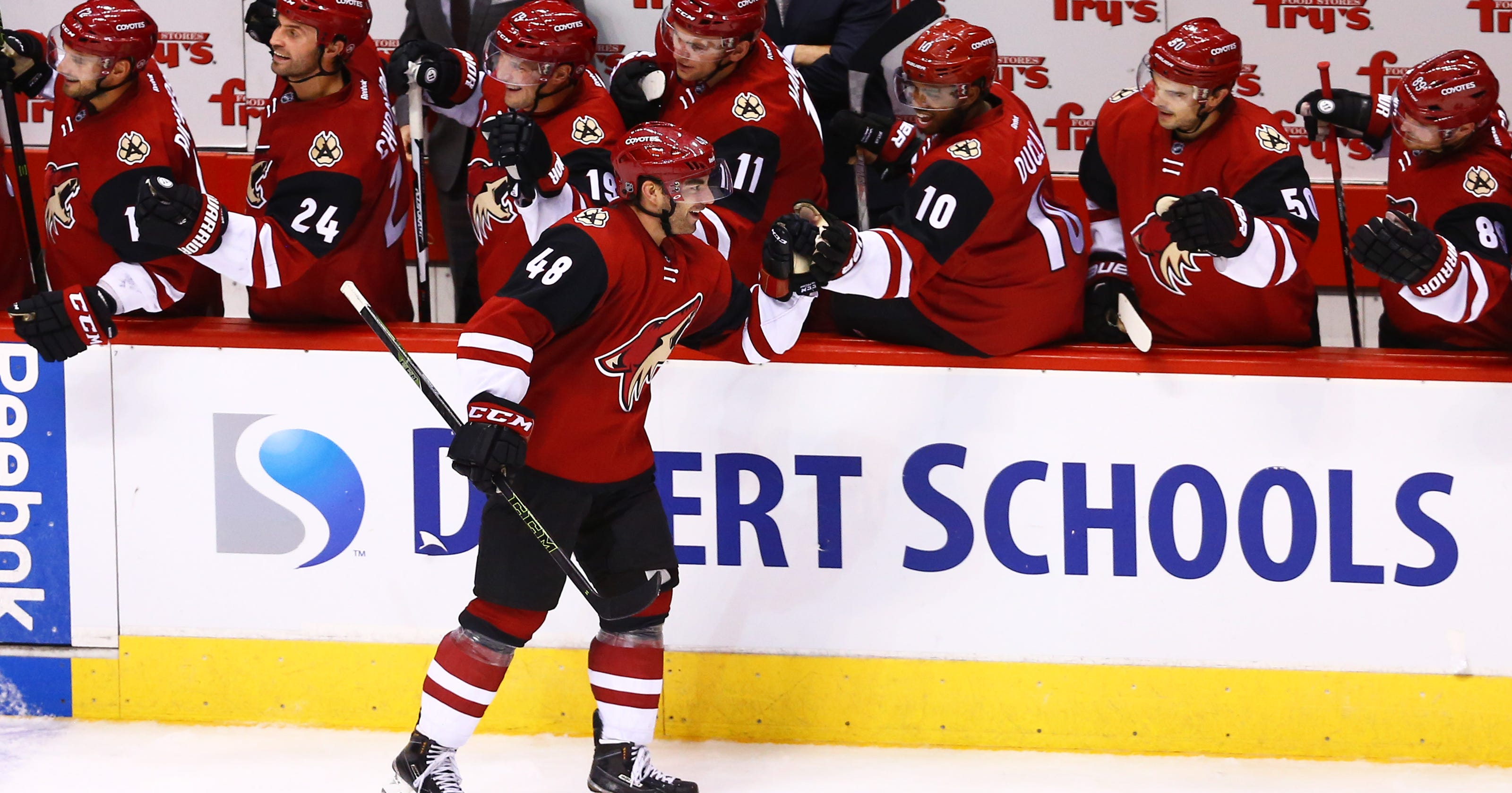 pretty nice c7d62 5ff4a Arizona Coyotes' youth helps spark early success