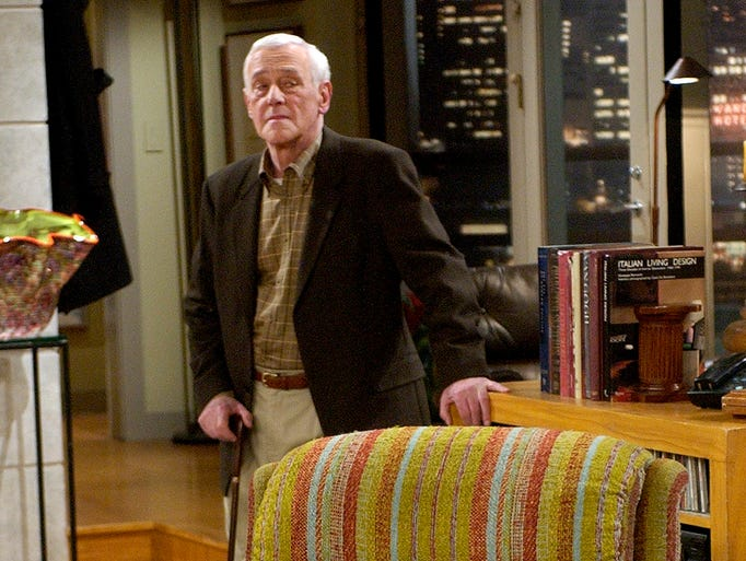 Actor John Mahoney, shown in 2004, died in February