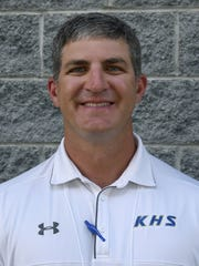 Brad Taylor, Karns High School coach, during the Knoxville