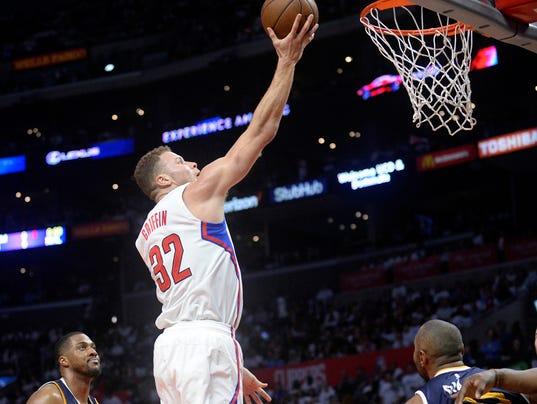 NBA: Playoffs-Utah Jazz at Los Angeles Clippers