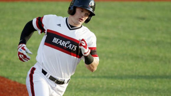 Ian Happ was the American Athletic Conference Player of the Year.