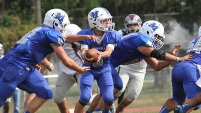 Marcus Borden's GMC Camp Caravan checks out Middlesex on Wednesday, Aug. 17.