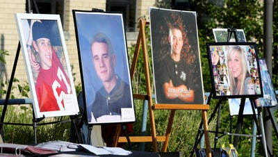 Pictured are a few among hundreds who've died from overdose in Northern Kentucky.