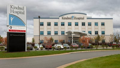 Kindred Hospital South will soon became Community Rehabilitation Hospital South.