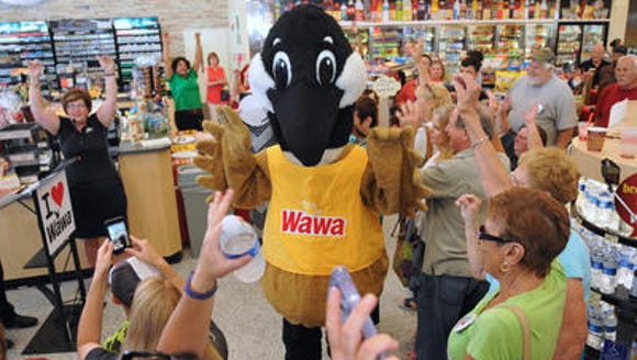 Wawa opened it first Brevard County store store in