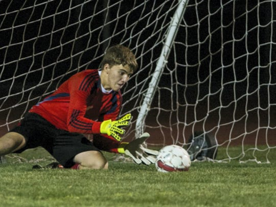 Annville-Cleona keeper Koy Alwine returns to secure
