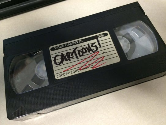 VHS tapes the classic way to record your favorite show