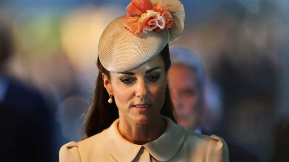 Duchess Kate in Belgium