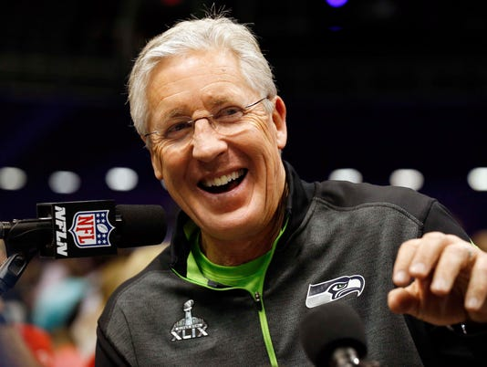 NFL: Super Bowl XLIX-Seattle Seahawks Media Day