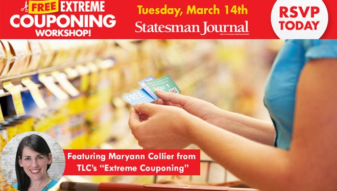 Free Extreme Couponing Workshop
