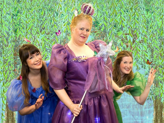 "The Queen of the Fairies, played by Suzanne Taylor (center), is one of the major characters in ""Iolanthe,"" Gilbert and Sullivan's satire on politics and romance.  The production by Blue Hill Troupe will be staged in Manhattan for six performances from April 8 to 16. The all-volunteer company, which utilizes performers and crew from New Jersey and elsewhere, is now in its 92nd year."