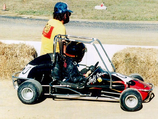 Jeff Gordon began his racing quarter midgets under