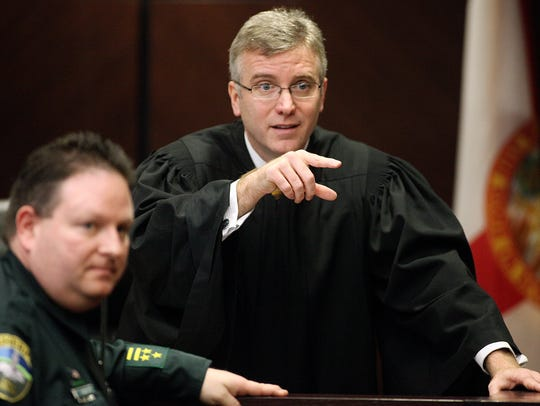 In this Dec. 10, 2009, file photo, Judge Mark Walker