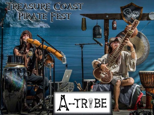 "The eclectic world fusion band ""A""-Tribe, who blend"