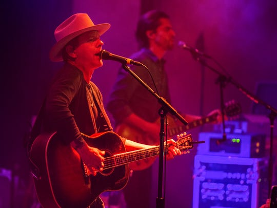 """Kiefer Sutherland, the actor best known for his role as Jack Bauer on the FOX drama """"24"""",  took to the stage at The Vogue."""