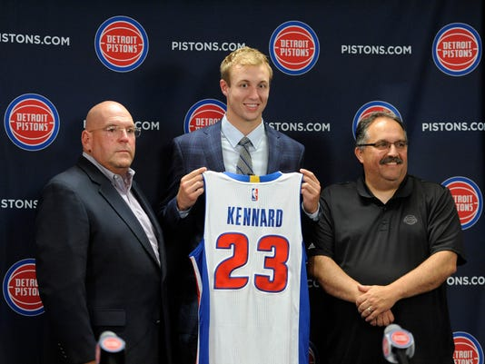 Jeff Bower, Luke Kennard, Stan Van Gundy