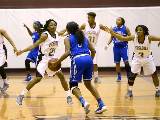 Pensacola High School takes on Washington High School