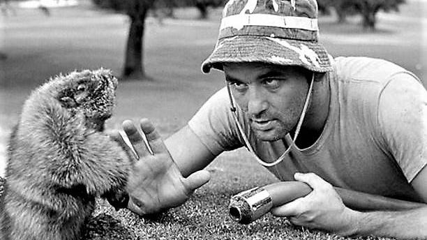 Another Bill confronts his nemisis in the 1980 movie 'Caddyshack.'