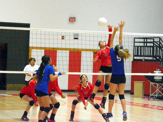 Loving's Chasity Onsurez with a kill attempt in the