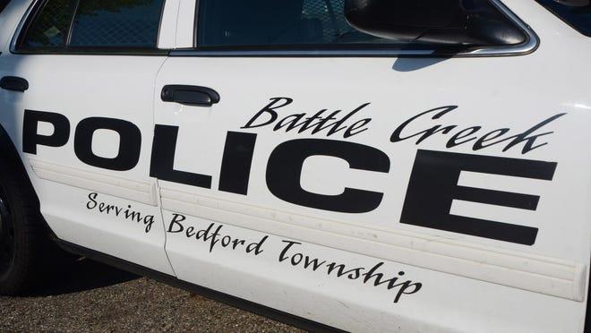Battle Creek Police Department car