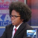 Thirteen-year-old David Williams is an outspoken critic at Dallas City Hall.