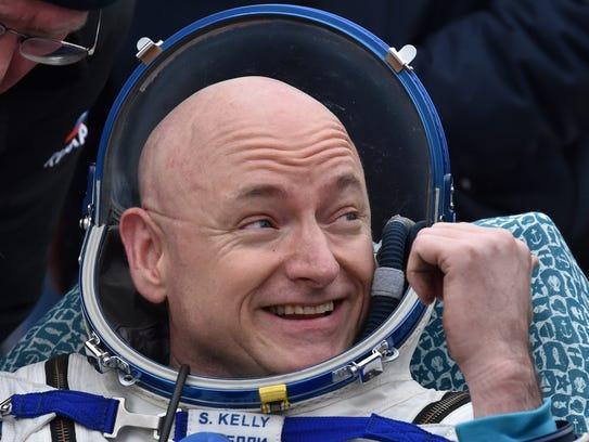 International Space Station (ISS) crew member Scott