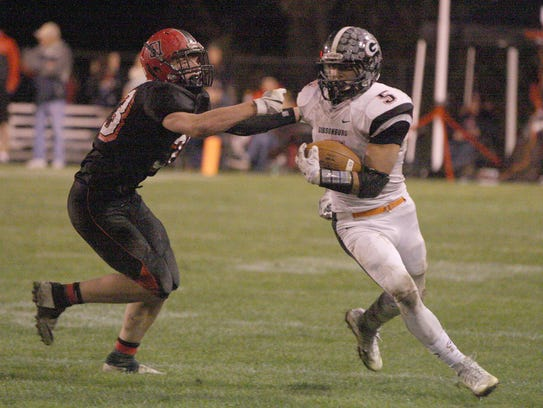 Gibsonburg's Brad Mendoza was first-team all-TAAC at