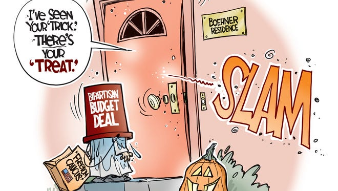 John Cole, The Scranton Times-Tribune, drew this editorial cartoon.