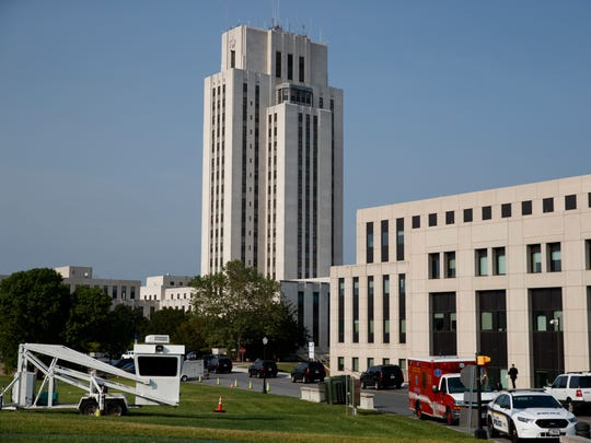 El Centro Médico Militar Walter Reed, hospital en el que permanece internada la Primera Dama Melania Trump.