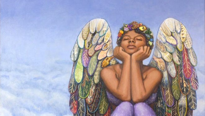 """Resting Angel,"" by Stephanie Kiah. Kiah's work will be on display at the University of Maryland Eastern Shore."