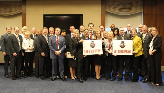 Marsha Blackburn and the Citizens for Fort Campbell are supporting the Govs in their game March 17 against Kansas