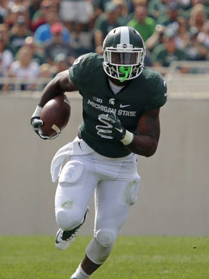 LJ Scott is ready for his indoctrination.