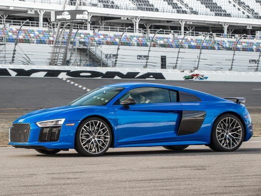 Audi's R8 V10 was designed to be at home on the street