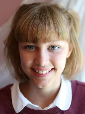 'America's Got Talent' singer Grace VanderWaal, 12, at home in Suffern July 18, 2016.