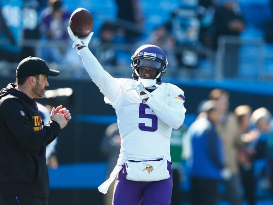 NFL: Minnesota Vikings at Carolina Panthers