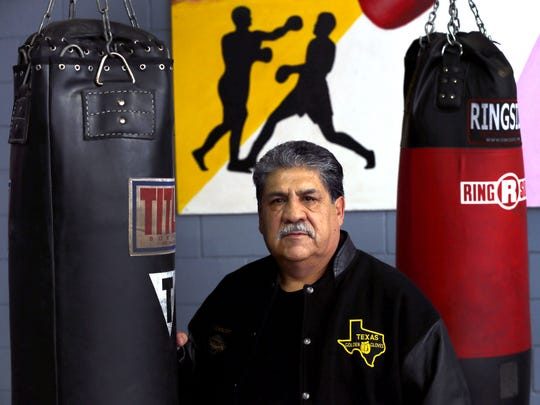Junior Vicencio is the director of the Golden Gloves