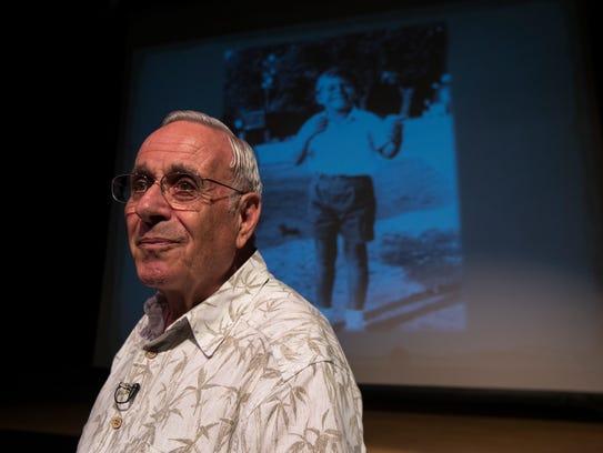 Holocaust survivor Steen Metz, a part-time Sanibel
