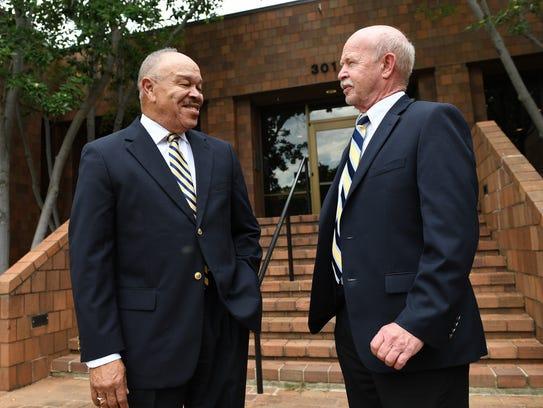 Longtime Greenville schools administrators Dr. Ken