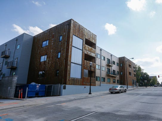 The Cresco apartments at 310 N. Jefferson Ave. are a project of the Vecino Group, named Developer of the Year by Downtown Springfield Association Feb. 2, 2018.