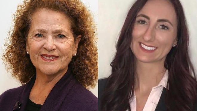 Democrat Carol Doherty, left, and Republican Kelly Dooner, both of Taunton, are vying to fill the state rep seat vacated by Shaunna O'Connell in a special election on Tuesday, June 2.
