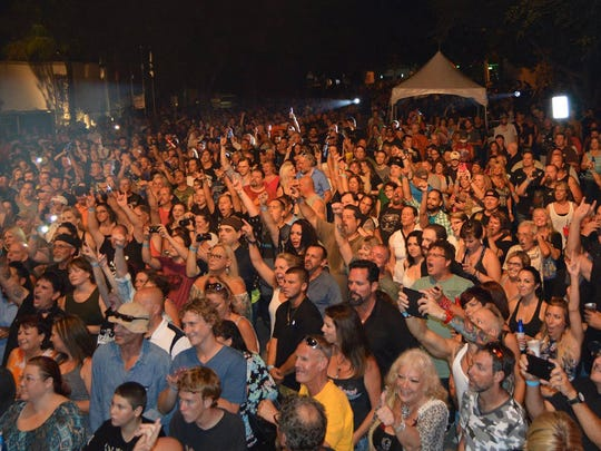 The October 2015 Cape Coral Bike Night attracted a record 18,000 people to see '80s rockers Quiet Riot.