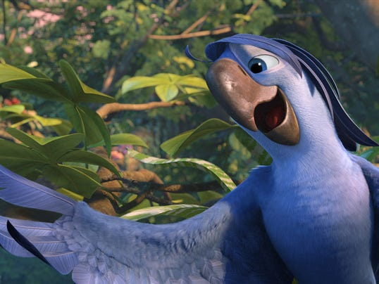 "Bruno Mars voices Roberto in ""Rio 2"""